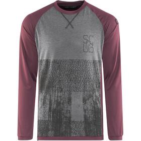 ION Scrub_Amp Longsleeve T-shirt Heren, vinaceous